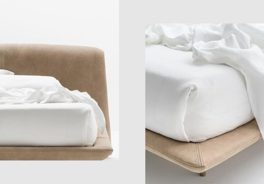 Кровать Onda Pelle фото - 3