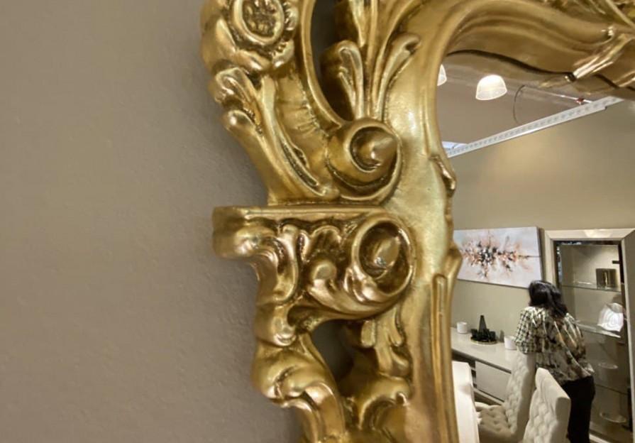 Дзеркало класика Gold фото - 5