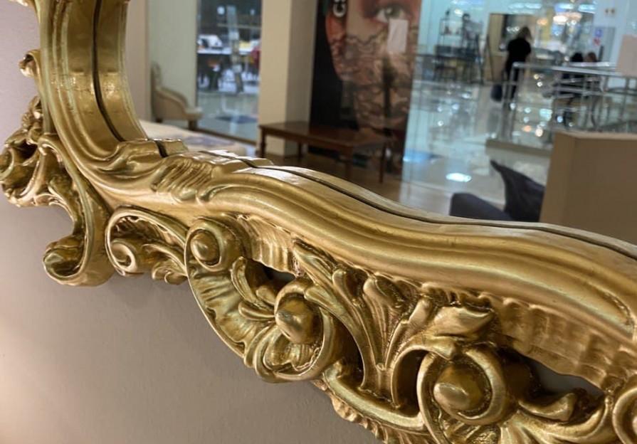 Дзеркало класика Gold фото - 3