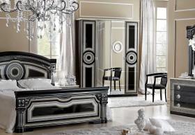 Спальня Aida Black Silver